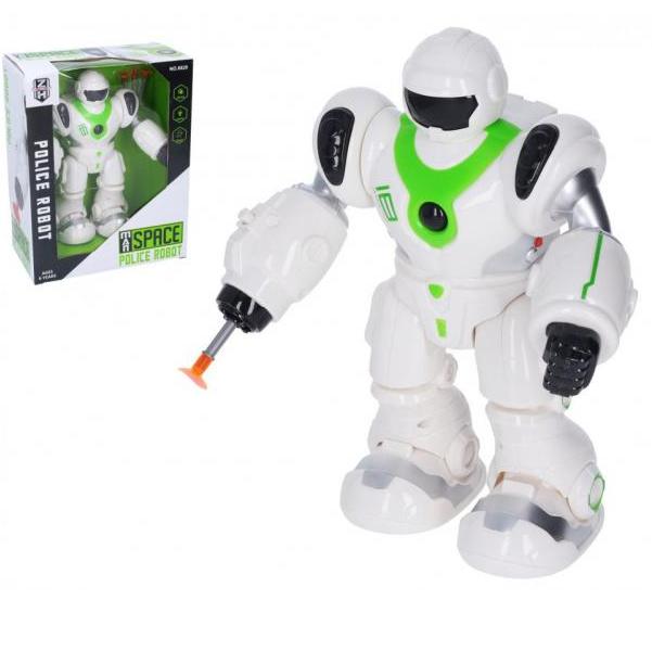 Robot Policie na baterie