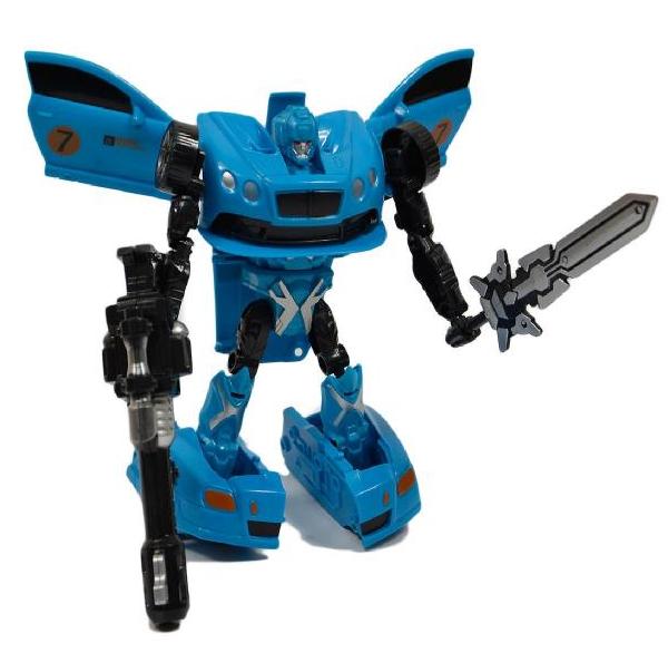 Robot transformující se na auto - modrá