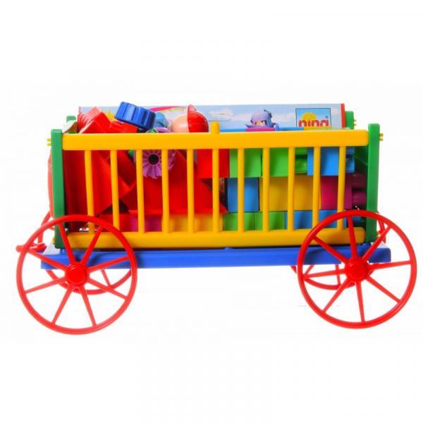 Pohádkový vozík s kostkami
