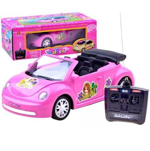 Růžový kabriolet Garbusek R/C