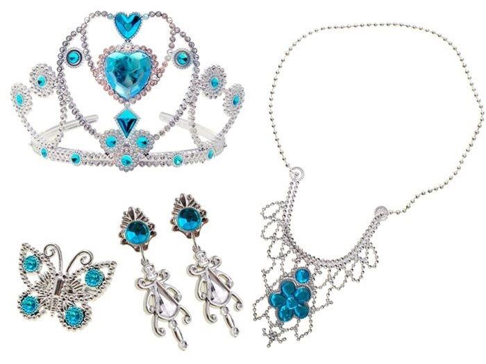 Sada šperků princezny Elsy - Ledové království