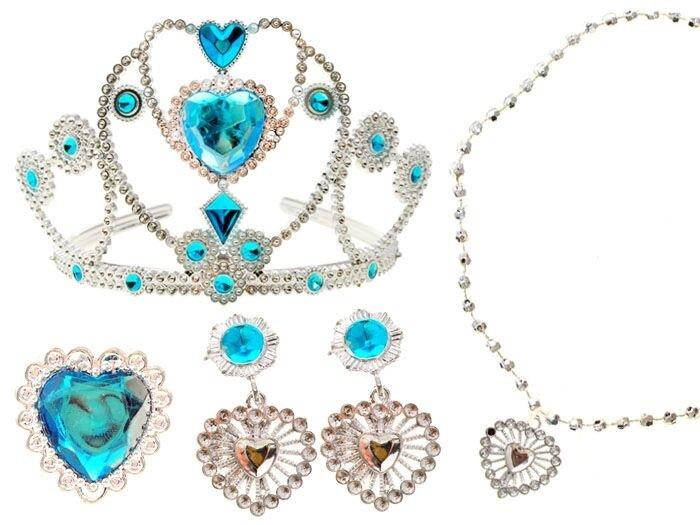 Senzační set šperků princezny Elsy - Ledové království