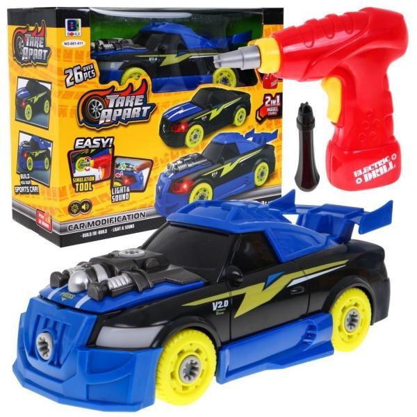 Skládací sportovní auto na baterie
