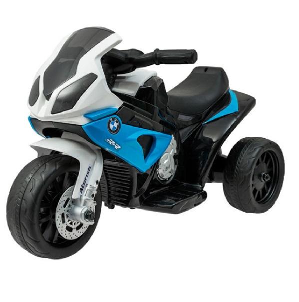 Sportovní elektrická motorka BMW modrá