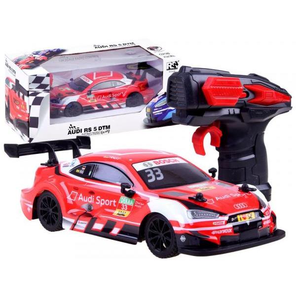 Sportovní auto Audi na dálkové ovládání - červená