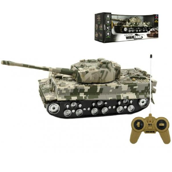 Tank TIGER na dálkové ovládání